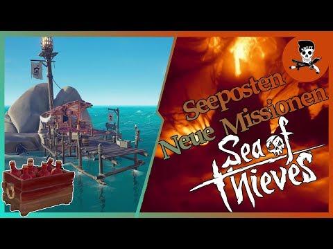 Sea of Thieves NEWS: NEUE SEEPOSTEN! / Details Cargo-Quests / Neue NPC