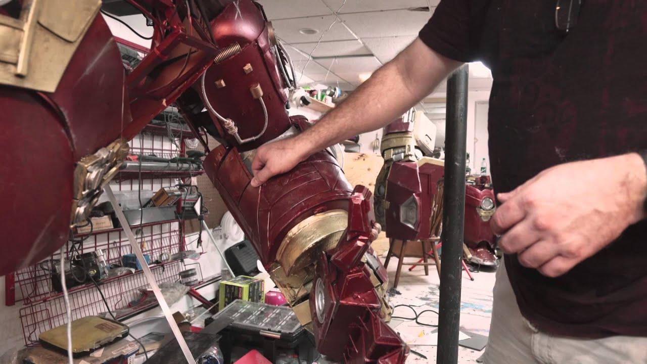 4bf892e20 Fã de Homem de Ferro cria cosplay em tamanho real da Hulkbuster [vídeo] -  TecMundo