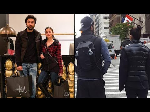 Ranbir Kapoor & Alia Bhatt TOGETHER On The Streets Of New York Mp3