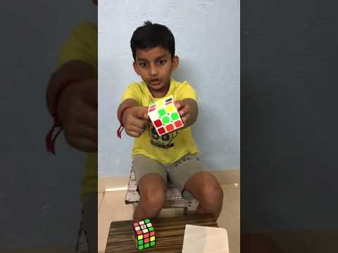 How to solve Rubik's Cube by Gautham