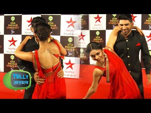 Sharad Tripathi Compliments Mrunal Thakur | Star Parivaar Awards Red Carpet | Interview