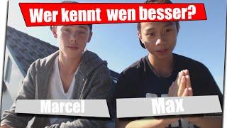 Max & Marcel | Wer kennt wen besser? | CHALLENGE