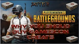 PLAYERUNKNOWNS BATTLEGROUNDS | GAMESCOM CRATES & WHY YOU SHOULD BUY THEM AND HOARD THEM TO SELL !!!