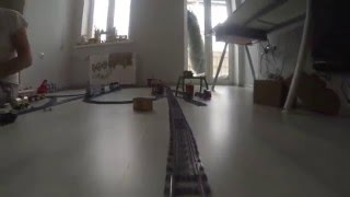 Lego Train + GoPRO 3 test