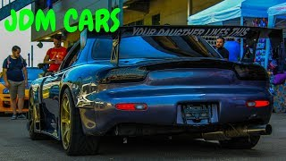 JDM Cars Japanesecarsmeeting 2018! RX7, SUPRA, SKYLINE and more...