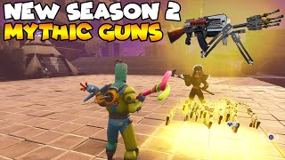 New Season 2 Rocket Gun is MYTHIC! 💯😱 (Scammer Gets Scammed) Fortnite Save The World