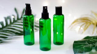 BEURRE ОБЗОР КОСМЕТИЧЕСКОЙ ТАРЫ: зеленый пластиковый флакон для косметики