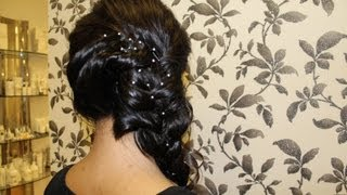 HOW TO: Indian Side Braid Hair Style Tutorial