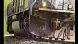 Caliente derailment, the aftermath, Tehachapi Pass, 1998