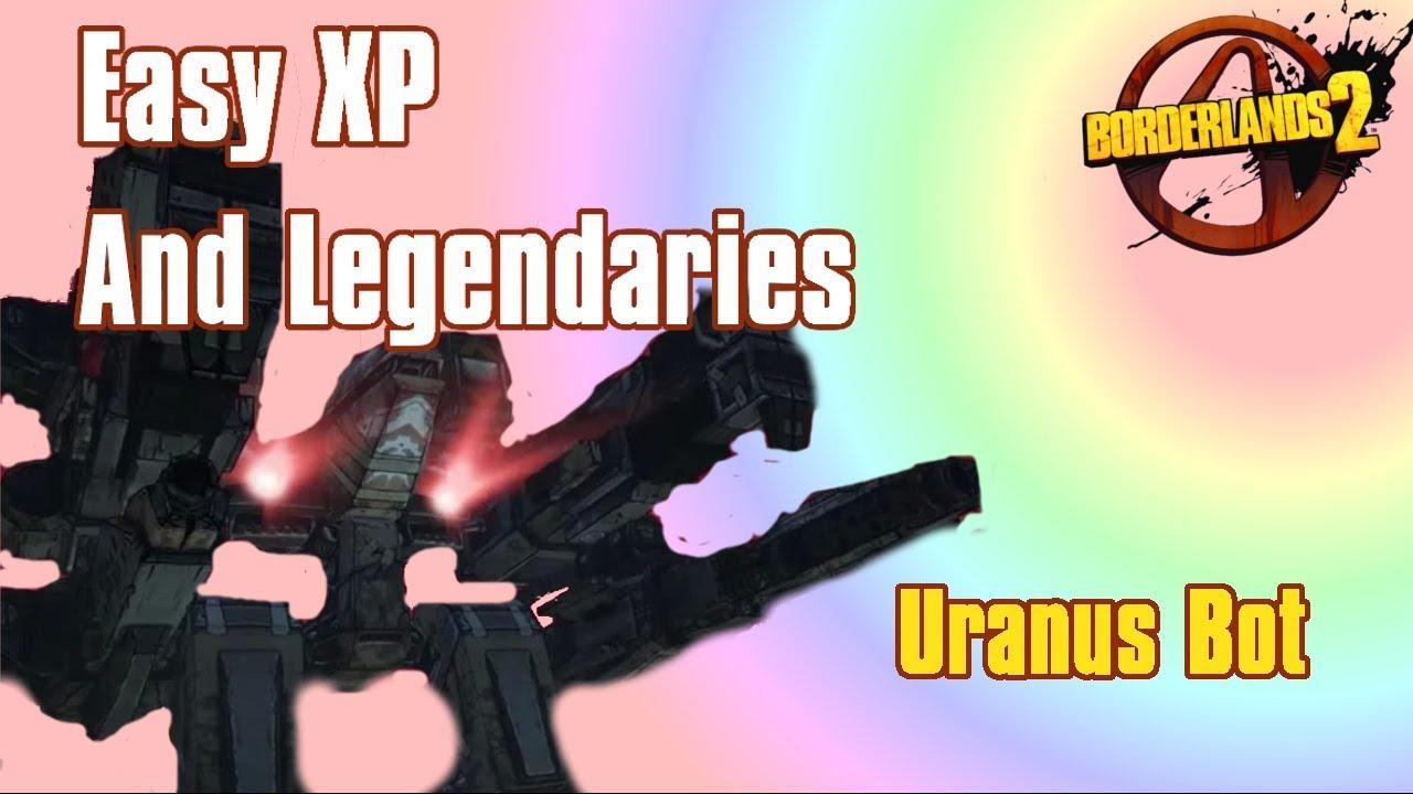 GRIND URANUS!! - Borderlands 2 (Pearlescents, Legendaries