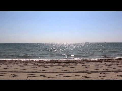 Fort Lauderdale beach, almost a half hour with good audio- great for background noise.