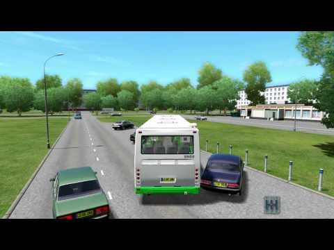 City Car Driving Liaz 5256.26 (BUS) HD with Logitech G27 Car Truck Bus Simulator OMSI