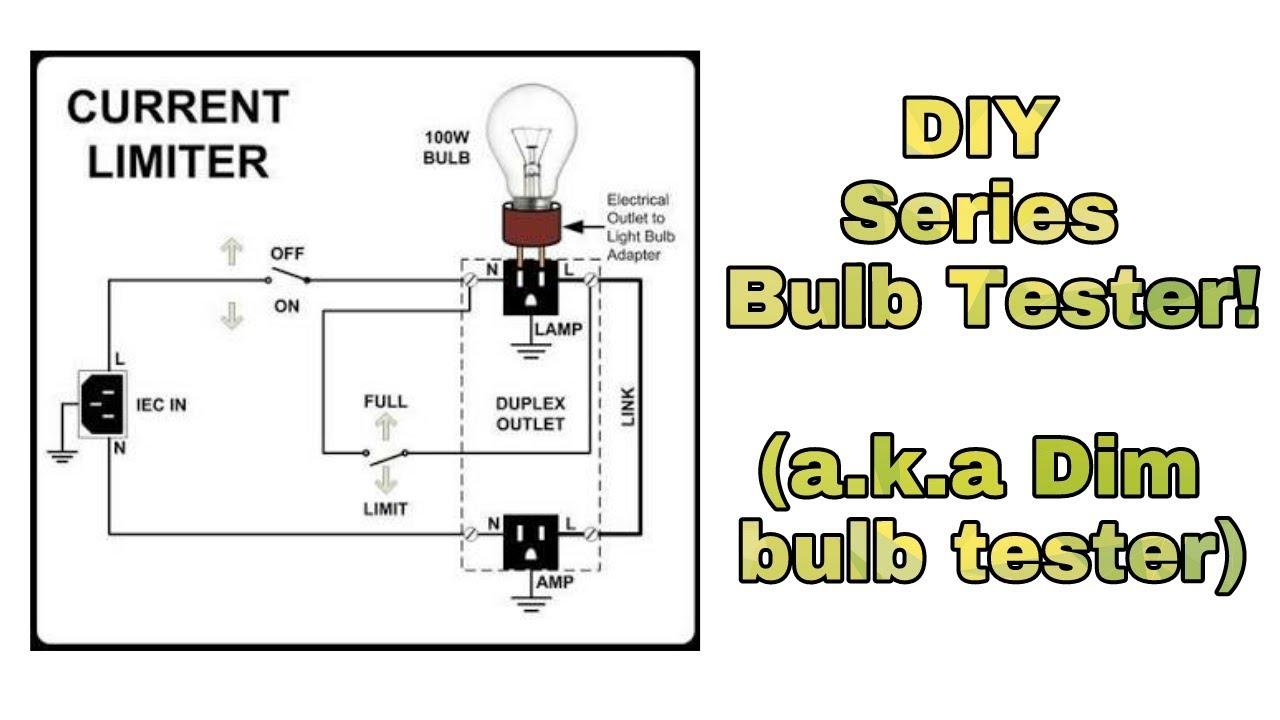 Ie 74   Diy Series Bulb Tester   Ac Mains Load Short