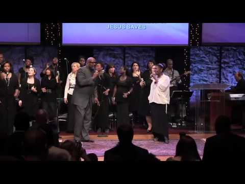 Marvin Winans & First Lady Debbie Winans Lowe Jesus Saves