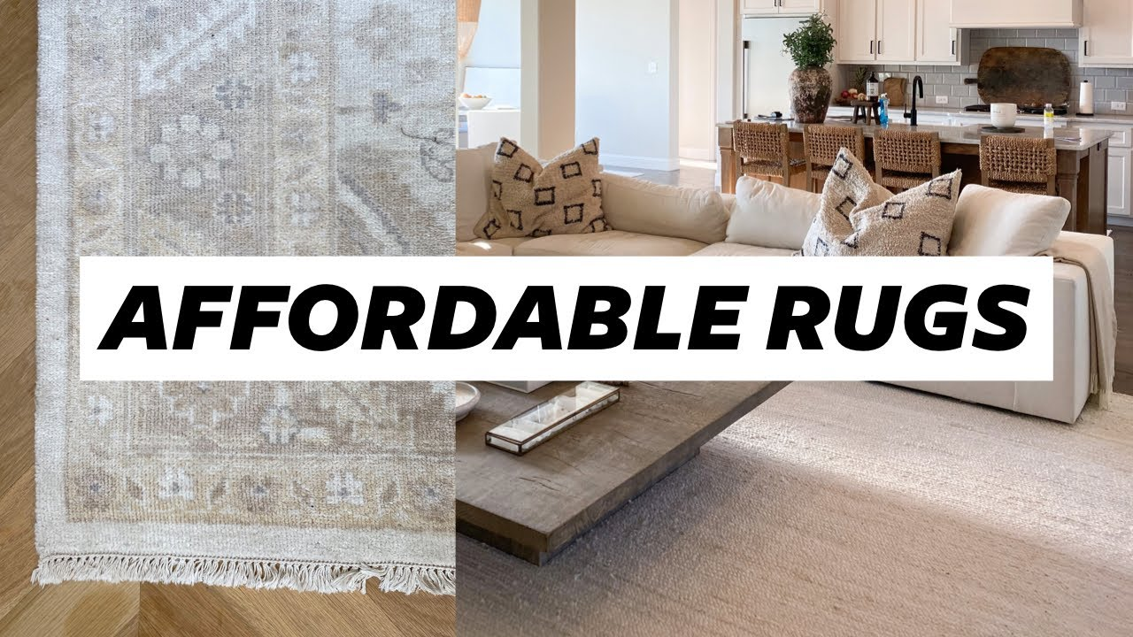 Affordable Neutral Rugs Home Decor Julia Hunter Havens Youtube