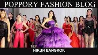 [FASHION SHOW] HIRUN BANGKOK | SPRING/SUMMER 2020 | VDO BY POPPORY