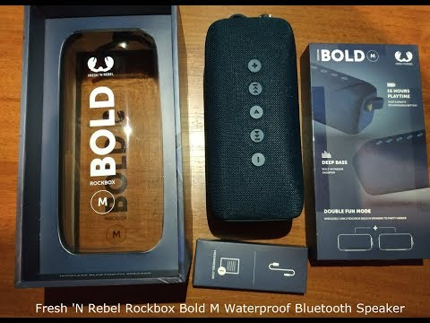 Акустична система Fresh 'N Rebel Rockbox Bold M Waterproof Bluetooth Speaker Cloud (1RB6500CL)