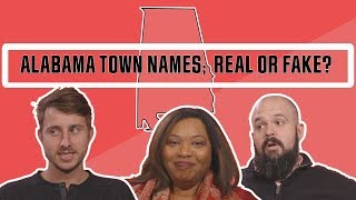 Are These Alabama Town Names Real or Fake? | This is Alabama