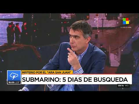 Últimas noticias submarino argentino ARA SAN JUAN