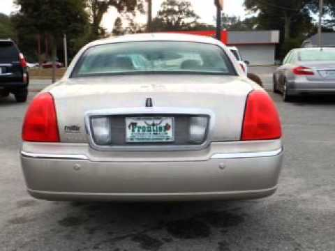 2003 lincoln town car pensacola fl youtube for Frontier motors pensacola fl