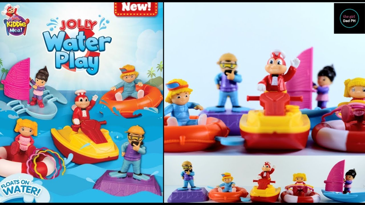 Jollibee May 2019 Jolly Kiddie Meal Jolly Water Play