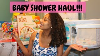 HUGE BABY SHOWER HAUL!!
