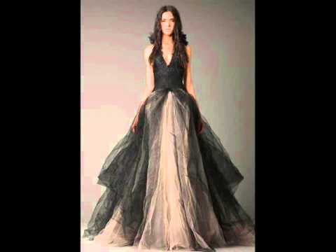 Black Wedding Dresses - Wedding Dress Fantasy - YouTube