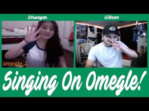 Singing On Omegle - I GOT BANNED!