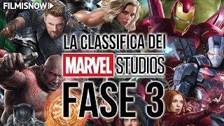 MARVEL CINEMATIC UNIVERSE FASE 3 | La classifica dei film