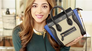 What's In My Bag - Céline Nano Luggage + Top 10 Lip Products | Amelia Liana Thumbnail