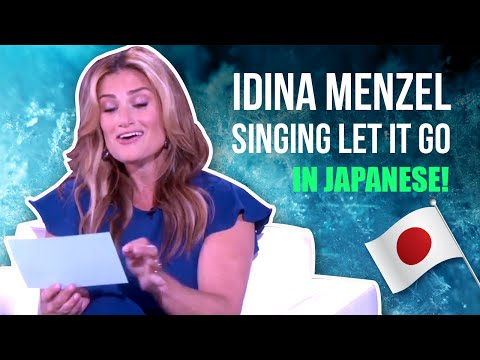 Idina Menzel singing
