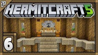 🐚 Hermitcraft 5 | Let's Play Minecraft Survival | FREE Shulker Box! Finally Beginning My Base! [#6]