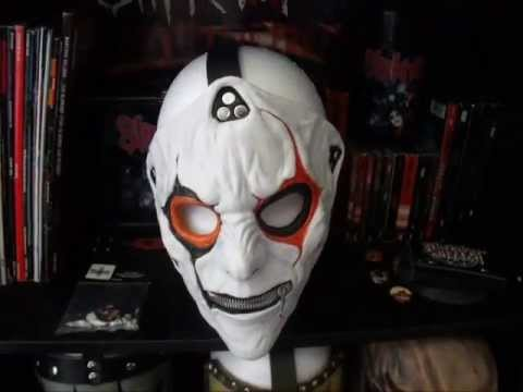 Jim Root IOWA Mask - YouTube