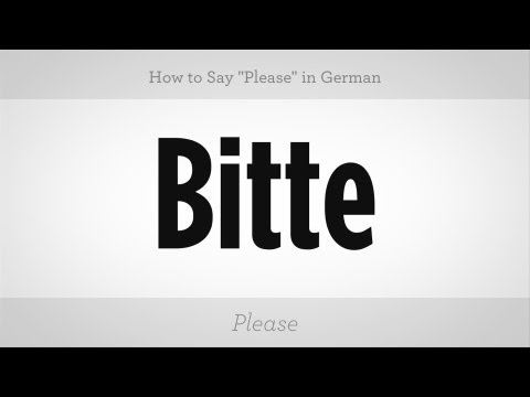 """how-to-say-""""please""""-in-german-
