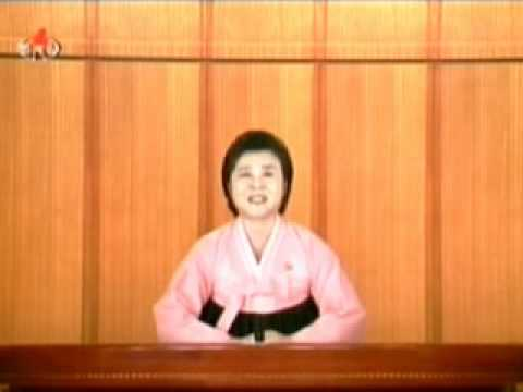 north korean kcbs news on 2010.7.30
