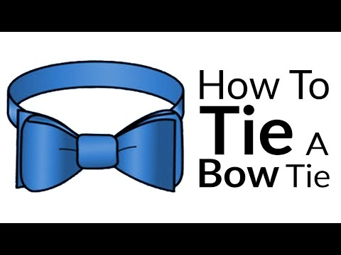 336b807edcf6 How To Tie A Bow Tie Knot - Tying Bow-Tie Knots in 10 Steps 2019