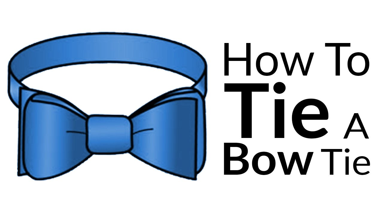 How To Tie A Bow-Tie   Easy Guide To Bow Tie Knots   Best ...