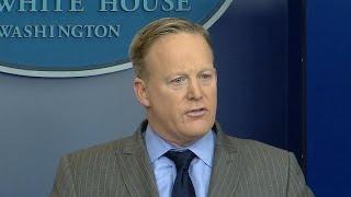 White House press secretary Sean Spicer slams media