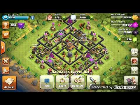 Clash of clans|Dragon vs king...🙈 - YouTube