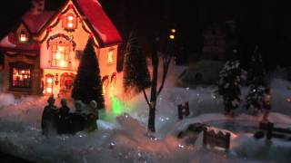 Riverwest Holiday Diorama