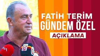 Teknik Direktörümüz Fatih Terim'den Gündeme Dair Açıklamalar - Galatasaray