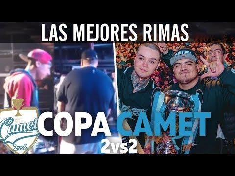 Las MEJORES RIMAS de la COPA CAMET! Internacional 2vs2   2017  - Batallas De Gallos Rap