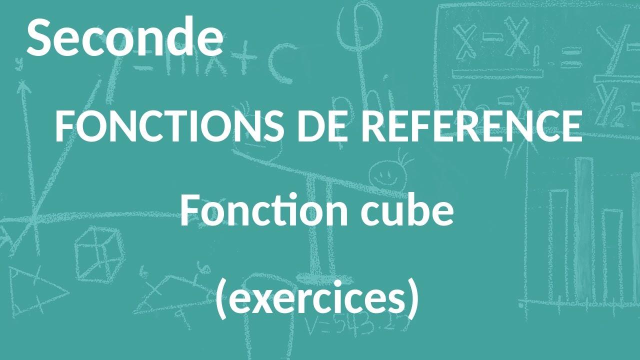 Seconde - Fonctions de référence - Fonction cube ...