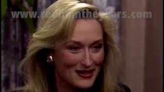 Meryl Streep- Interview (A Cry In The Dark) 1988 [Reelin' In The Years Archives]