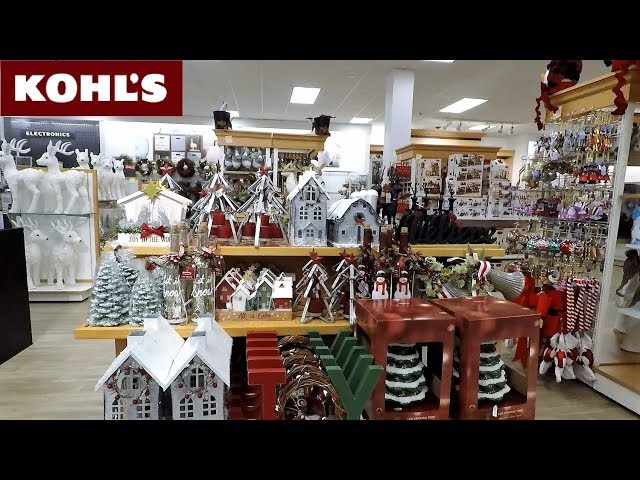 kohls christmas 2018 items christmas decorations ornaments home decor shopping kohls 4k - Kohls Christmas Decorations