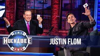 SHOCKING: Magician Justin Flom Shares The Gospel Using A Deck Of Cards | Huckabee