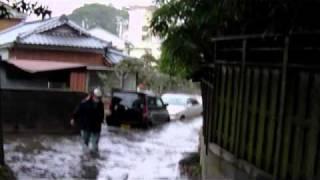 【東日本大震災】茨城県北茨城市磯原町における津波被害の様子Tsunami in Japan. March 11,2011