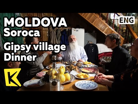 【K】Moldova Travel-Soroca[몰도바 여행-소로카]집시 왕과의 저녁 식사/Gipsy village/Dinner/Gipsy king