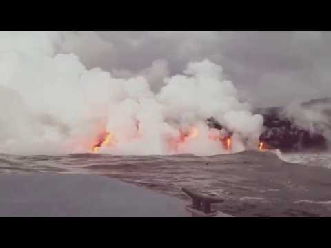 Land in the making - the most active volcano in the world