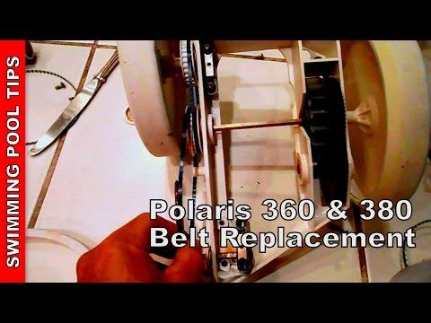 Polaris 360 380 Belt Replacement You